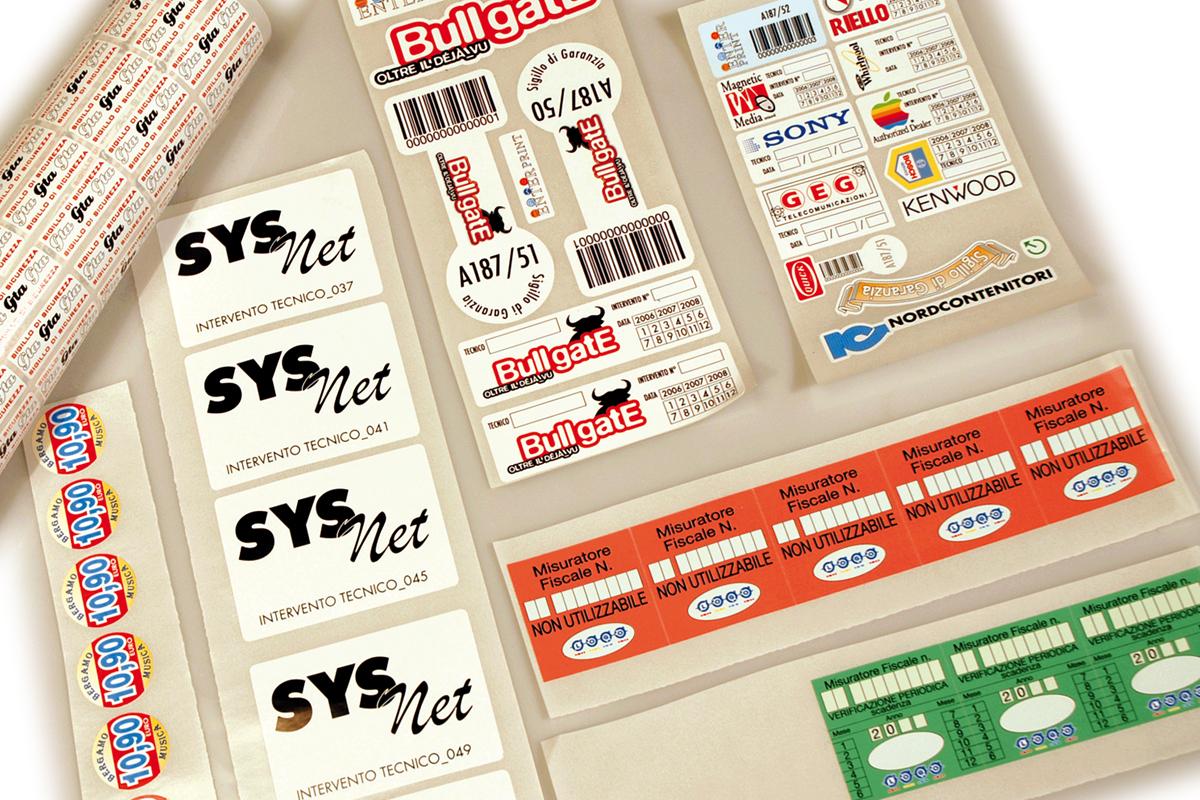 Etinastro Etichette stampa a solvente 1