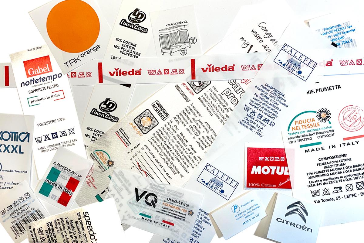 Etinastro Etichette rotativa