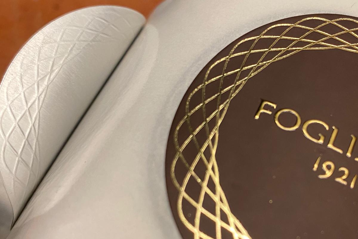 Etinastro Etichette stampa rilievo con lamina a caldo