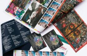 Textile lithograph printing